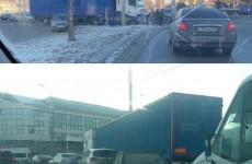 ДТП с фурой парализовало движение в пензенском Арбеково