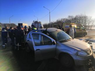 Установлена личность водителя, травмированного в ДТП под Пензой