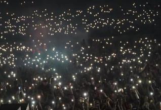 Фанаты Макса Коржа подрались с пожарными на концерте