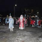 На центральной площади Кузнецка открыли зимний городок