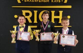 Юный пензенец победил во всероссийских соревнованиях по бильярдному спорту