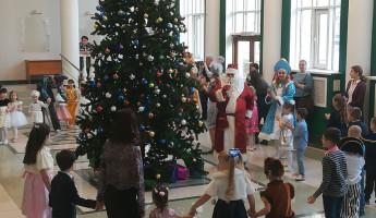 Дед Мороз поздравил несовершеннолетних правонарушителей из Пензы