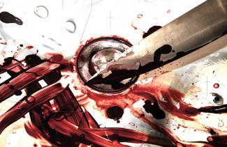 Уголовник из Пензенской области набросился с ножом на собутыльника