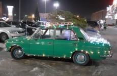 «Новогодний тюнинг». В Пензенской области появилась праздничная «шестерка»