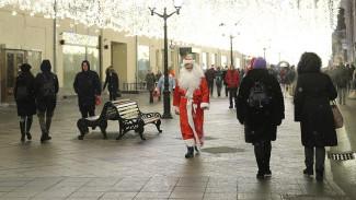 В самом центре города потерял сознание Дед Мороз