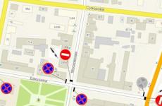 В Пензе улицу Бакунина перекрыли из-за Губернаторской елки