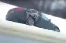 На трассе в Пензенской области улетели в кювет сразу две машины. ВИДЕО