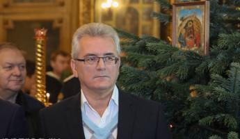 Иван Белозерцев принял участие в праздновании Рождества и поздравил жителей