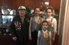 Пензенские школьники поздравили с праздниками ветеранов ВОВ