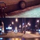 В Пензе маршрутное такси «рассыпалось» на дороге