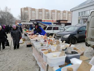 В Пензе продолжают работать ярмарки выходного дня