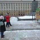На площади Ленина пензенцы померились силами в спортивных состязаниях. ФОТО