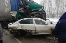 Появилась информация о пострадавшем в массовом ДТП на трассе в Пензенской области