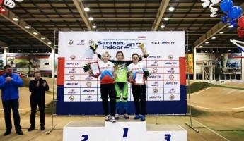 Спортсменка из Пензы успешно выступила на соревнованиях по BMX