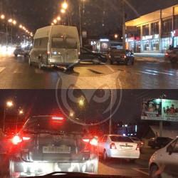 В Пензе движение по проспекту Победы парализовало из-за аварии