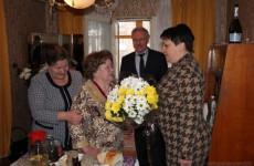 Пензячку Александру Карпушеву поздравили со 100-летним юбилеем