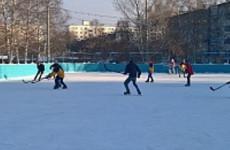 В Пензе пройдут соревнования по хоккею среди школьных и дворовых команд