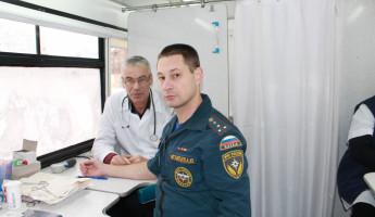 За один день пензенские «доноры в погонах» сдали более 13 литров крови