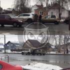 В пензенской Терновке легковушка влетела в дорогую иномарку