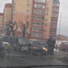 В Пензе улица Володарского встала в пробке из-за ДТП с «Яндекс.Такси»