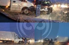 В Пензе «Нива» столкнулась с грузовой «ГАЗелью»