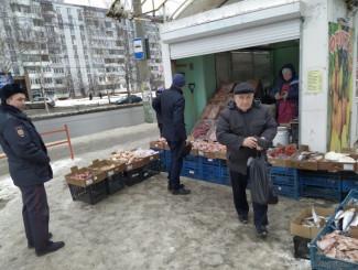 В Октябрьском районе Пензы пресекли незаконную торговлю