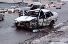 Страшное ДТП на Гагарина в Пензе: столкнулись четыре машины. ФОТО