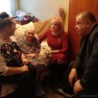 Пензячку Ольгу Маркину поздравили со 101-м днем рождения