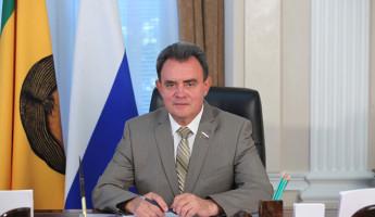 Валерий Лидин поднялся на 19 позиций в рейтинге глав законодательных органов субъектов РФ