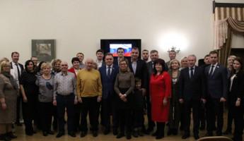 В Пензе вручили партийные билеты новым членам «Единой России»