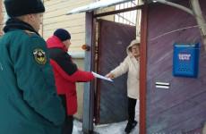Жителям частного сектора Пензы рассказали о пожарной безопасности