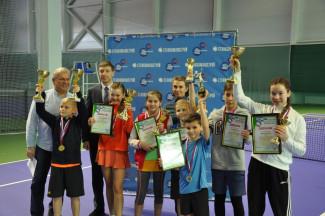 В Пензе завершился межрегиональный теннисный турнир