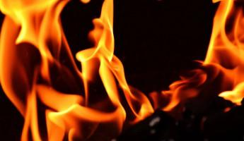 Пожар на складе в Нижнеломовском районе тушили 9 человек