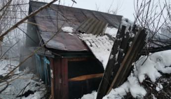 Обнародованы фото с места смертельного пожара в Пачелме Пензенской области