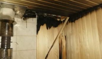 За одни сутки в Пензенской области огонь уничтожил шесть бань