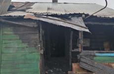 Опубликованы фото с места пожара на улице Пески в Пензе