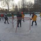 В Октябрьском районе Пензы выявили сильнейшую хоккейную команду