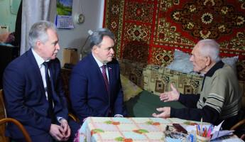 Ветеран ВОВ рассказал Валерию Лидину о подвиге ленинградцев