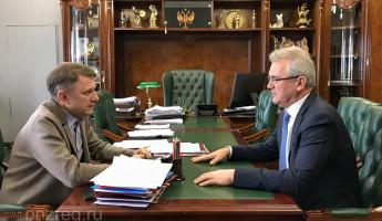 Иван Белозерцев и Владимир Шемякин обсудили судьбу пензенского цирка