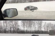 В Пензенской области вылетели с трассы две легковушки