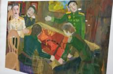 В Пензе начала работу экспозиция юных художников к 75-летию Победы