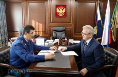 Пензенский губернатор встретился с заместителем Генпрокурора РФ
