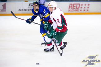 В домашнем матче пензенский «Дизель» обыграл ХК «Барс»