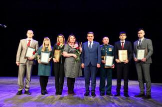 Валерий Лидин наградил лучших пензенских ученых и инженеров