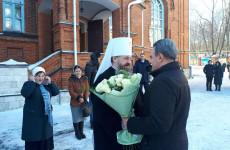 Валерий Лидин поздравил с тезоименитством главу Пензенской епархии