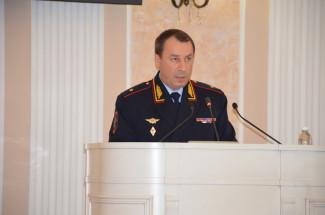 Что сказал начальник полиции пензенским депутатам