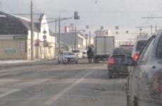 Пензенский микрорайон Терновка встал в пробке из-за аварии
