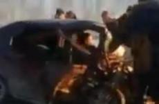 Появилось еще одно видео с места смертельного ДТП на трассе «Пенза – Лунино»