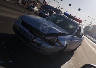 В пензенской Терновке угодила в аварию машина ГИБДД. ФОТО