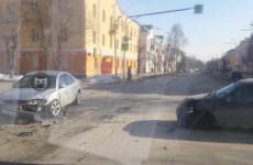 В Заводском районе Пензы разбились две легковушки